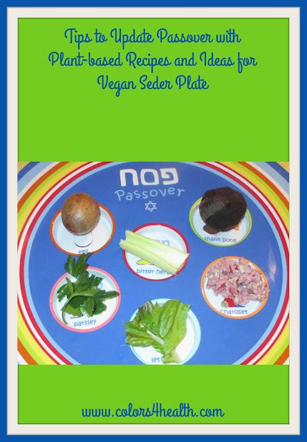 Passover Story, Vegan Recipes and Ideas