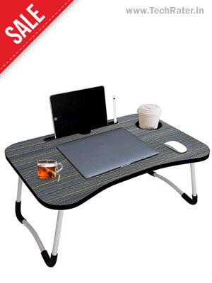 Adjustable Laptop wooden Desk Table for Bed