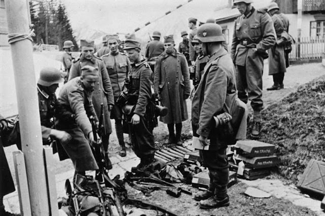 6 April 1941 worldwartwo.filminspector.com Yugoslavians surrendering