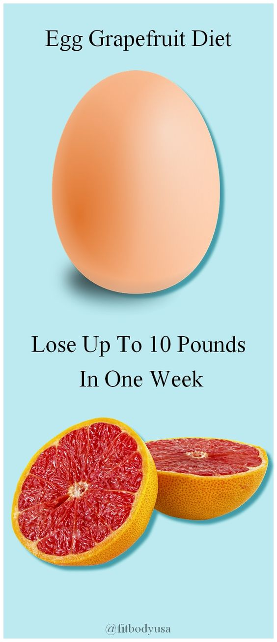 Diet With Eggs And Grapefruit - Lose Up To 10 Pounds In One Week With Egg Grapefruit
