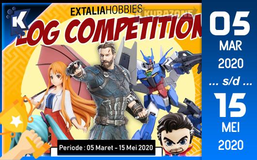 Kompetisi Blog - Extalia Hoobies Berhadiah Figure Original Jutaan Rupiah
