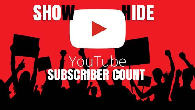 How to Hide Show Your YouTube Channel Subscribers Count