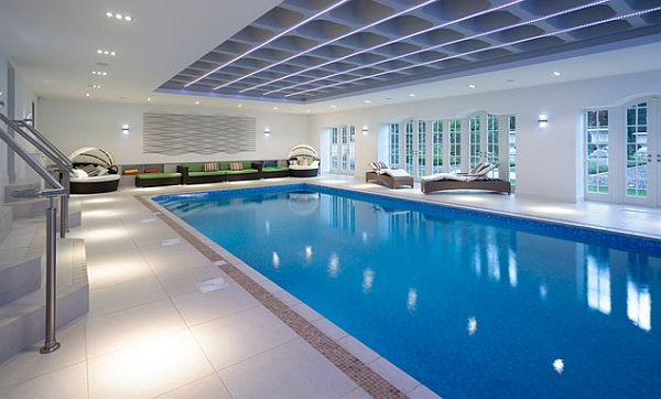 World of architecture 10 amazing swimming pool designs for Pool design indoor