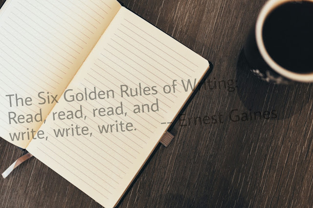 The 6 golden rules of writing