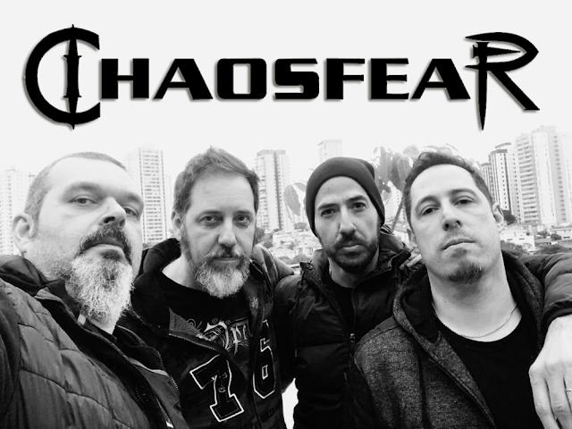 CHAOSFEAR divulga capa e data de lançamento de novo álbum!