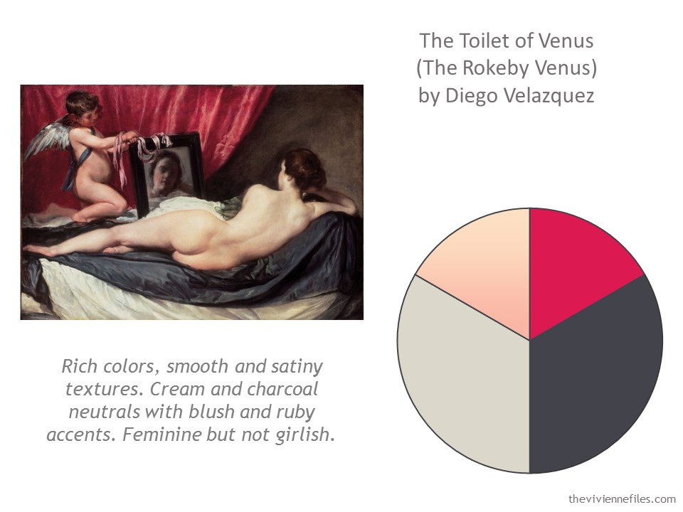 building a capsule wardrobe by starting with the toilet of venus the rokeby venus by