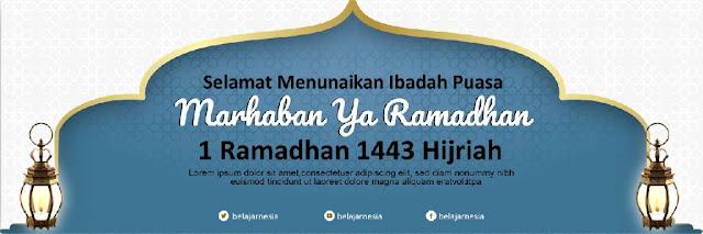 Download Contoh Spanduk Ramadhan adobe Illustrator gratis