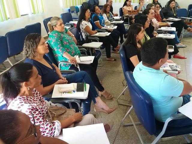 Seduc oferece formação para gestores escolares de Guajará e Nova Mamoré