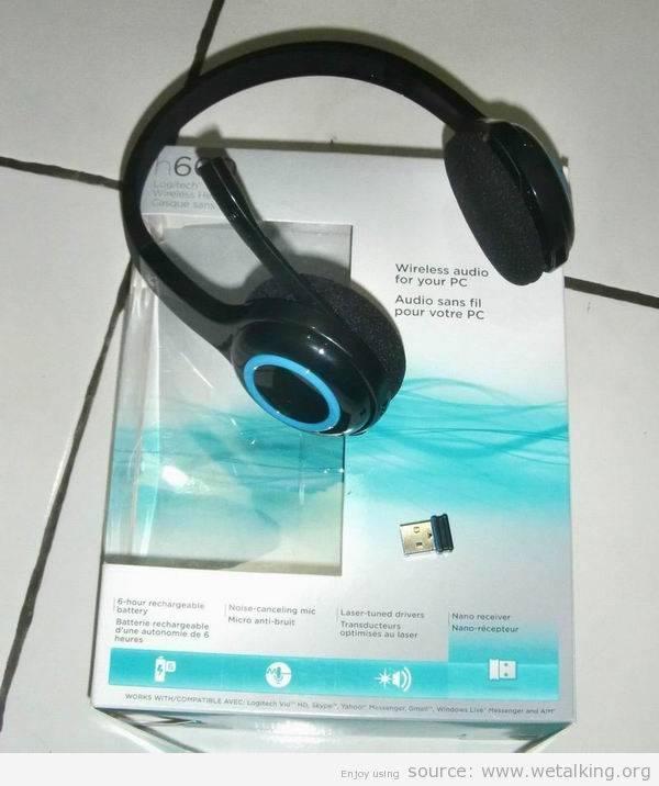 General Articles Discuss Wireless Headset Logitech H600