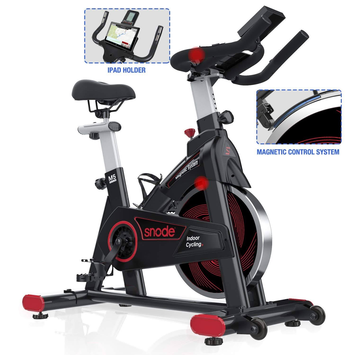 Exercise Bike Zone Snode 8731 Magnetic Spin Bike Indoor Cycle Review