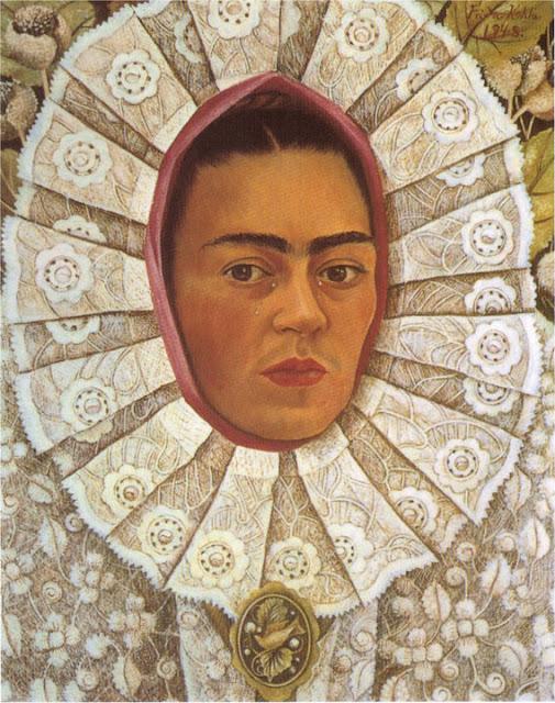 Фрида Кало - Автопортрет. 1948