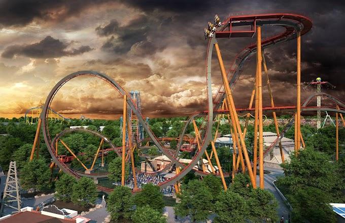 Six Flags Fiesta Texas anuncia Dive Coaster com a queda mais íngreme do mundo!