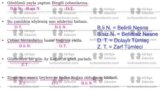 8.Sınıf Dörtel Yayınları Türkçe Çalışma Kitabı 77. 78. 79. 80. Sayfa Cevapları