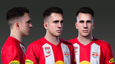 PES 2020 Faces Dominik Szoboszlai by Prince Hamiz