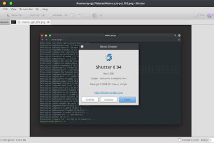 Shutter : Aplikasi Screenshot Terbaik di Linux