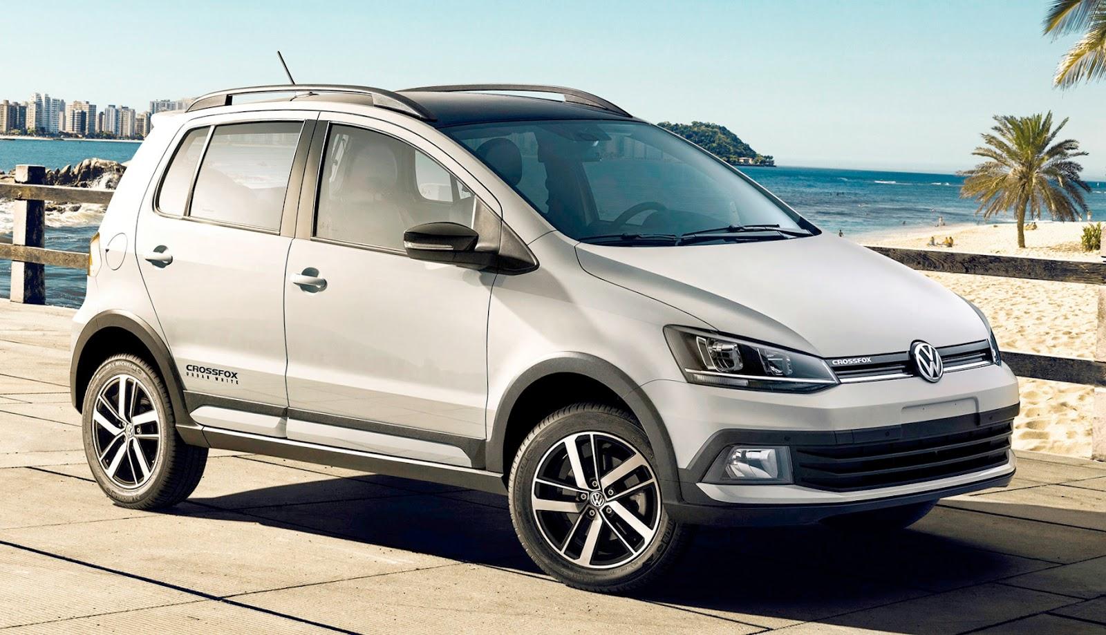 Volkswagen CrossFox Urban White chega com robustez, design exclusivo e novas tecnologias