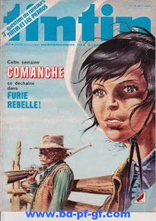 Tintin numéro 41, 1975, Comanche