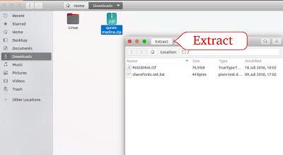 Cara Extract Here File Zip di Ubuntu