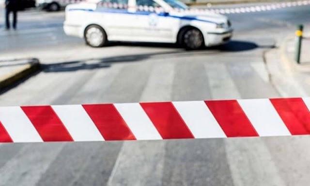 Διακοπή κυκλοφορίας στην οδό Φιλίας στη Λαμία, λόγω εμποροπανήγυρης