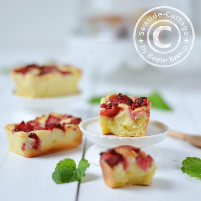 seaside cottage lecker frische apfel quark muffins geht auch mit erdbeeren heidelbeeren. Black Bedroom Furniture Sets. Home Design Ideas