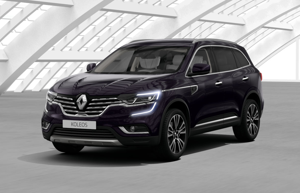 renault koleos ii 2018 couleurs colors. Black Bedroom Furniture Sets. Home Design Ideas