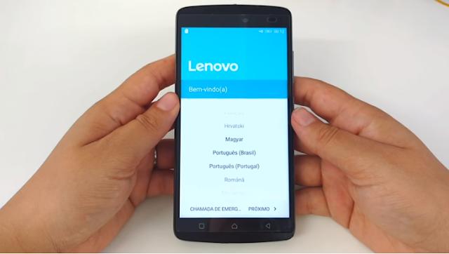 Aprenda como Desbloquear a Conta Google dos aparelhos Lenovo Vibe K4, K4 Note, K5, K5 Plus, K6, K6 Plus, C2.