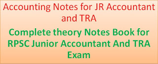Accounting Notes for JR Accountant and TRA (Theory Notes)