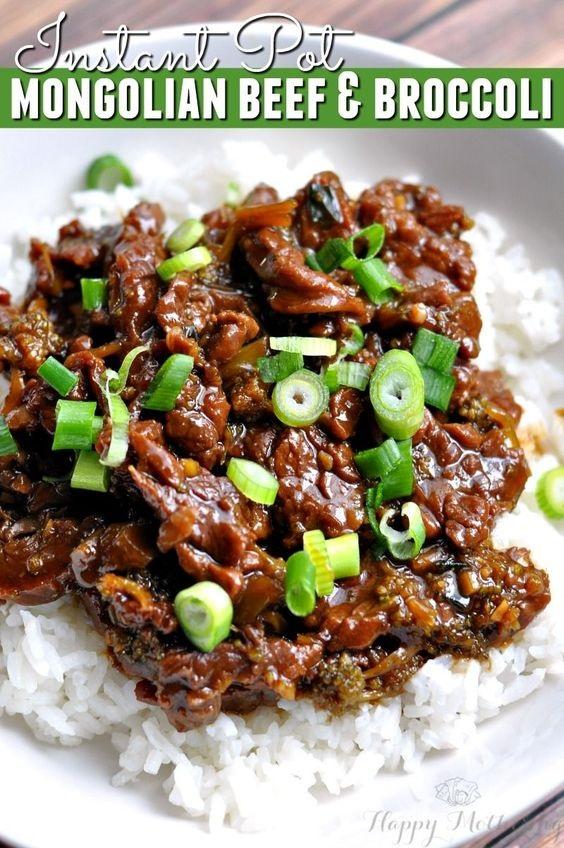 Instant Pot Mongolian Beef & Broccoli Recipe