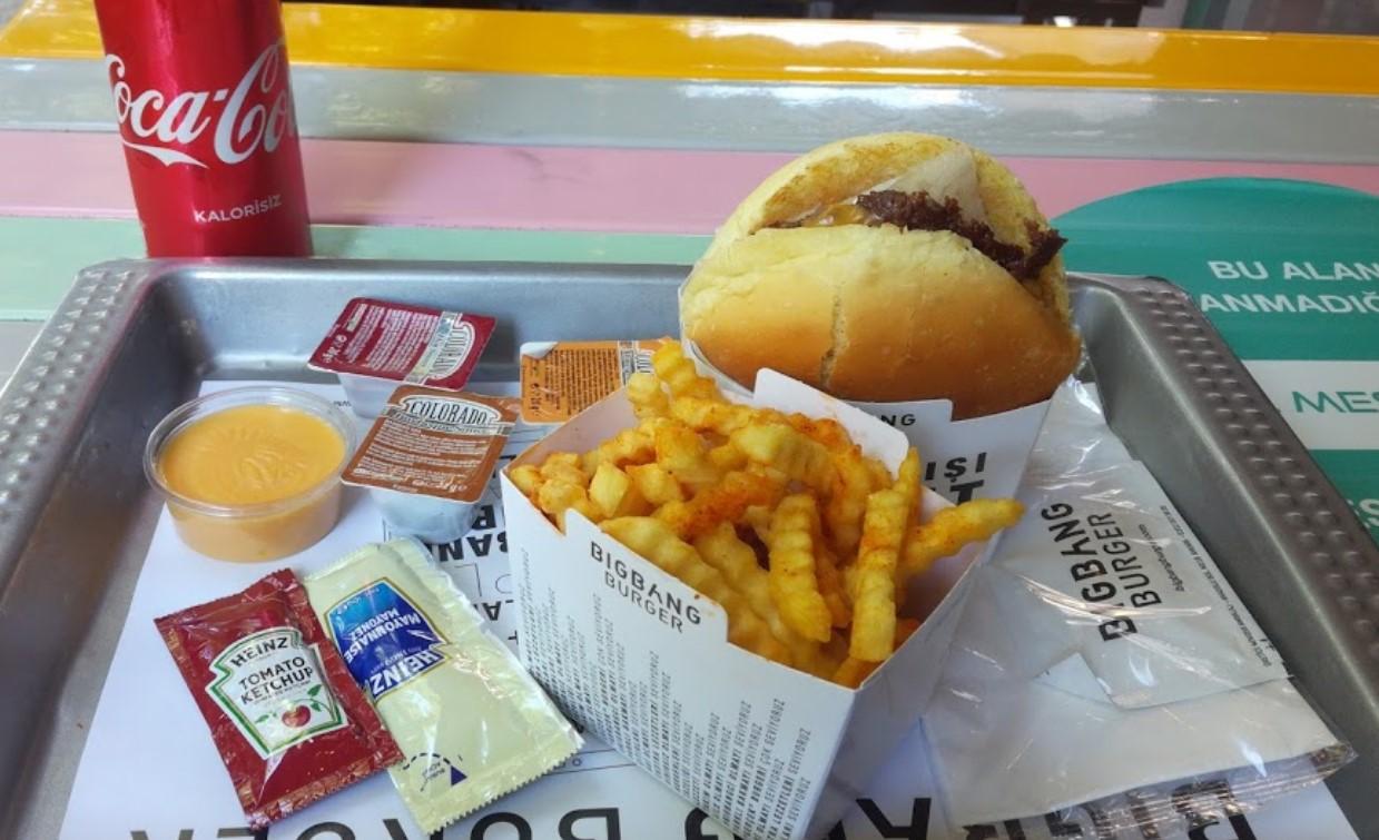 big bang burger çankaya ankara menü fiyat listesi hamburger sipariş