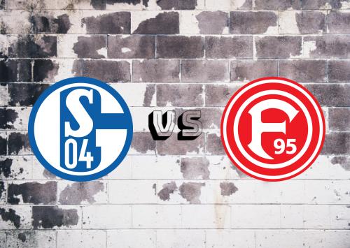 Schalke 04 vs Fortuna Düsseldorf  Resumen