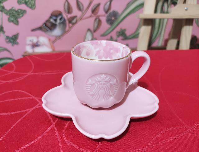 starbucks sakura demi cup and saucer