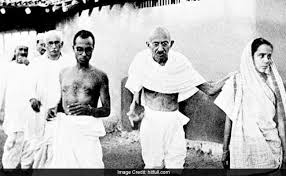 Mahatma Gandhi is fighting for our India