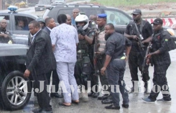 Show of power : Amaechi escapes death in Port Harcourt (See Details)