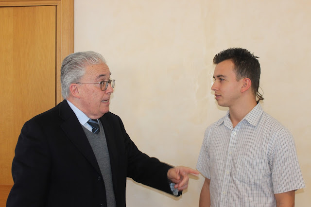 Conversación entre Guzmán Carriquiry y Ángel