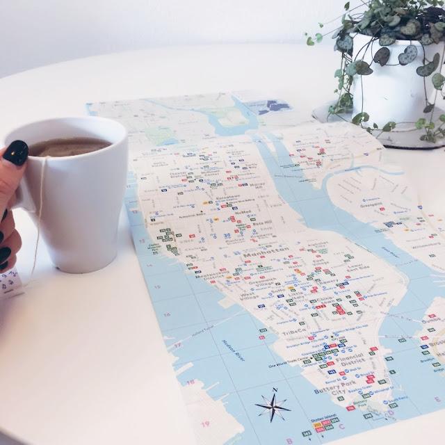 GrinseStern, New york, Tee, Reisetipp