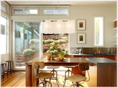 desain dapur dan ruang makan yang unik
