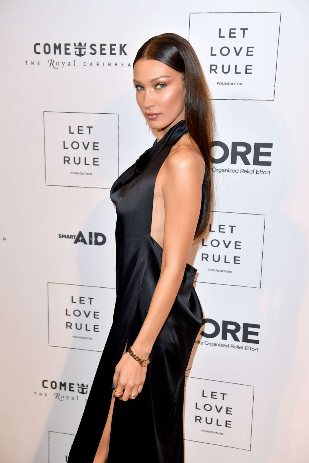 Bella Hadid – Core x Let Love Rule Benefit during Art Basel