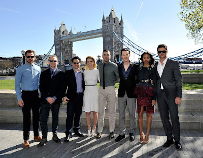 Star Trek Into Darkness Cast Photo from photocall in London