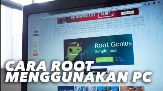 Cara Root HP Dengan PC