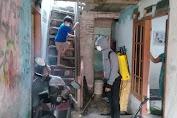 Forum Warga Bamban Bersatu Lakukan Penyemprotan Disinfektan