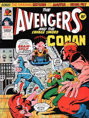 Marvel UK, Avengers #136, Brain-Child