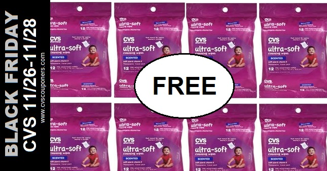 FREE CVS Baby Wipes Black Friday Deal 11-26-11-28