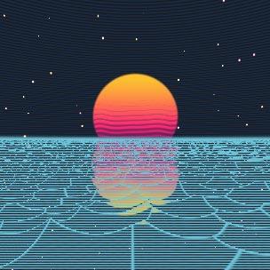 Cross-Galactic Ocean (WebGL) Wallpaper Engine