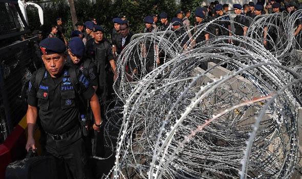 Penetapan Capres Terpilih Diamankan Oleh 10 Ribu Personel Gabungan