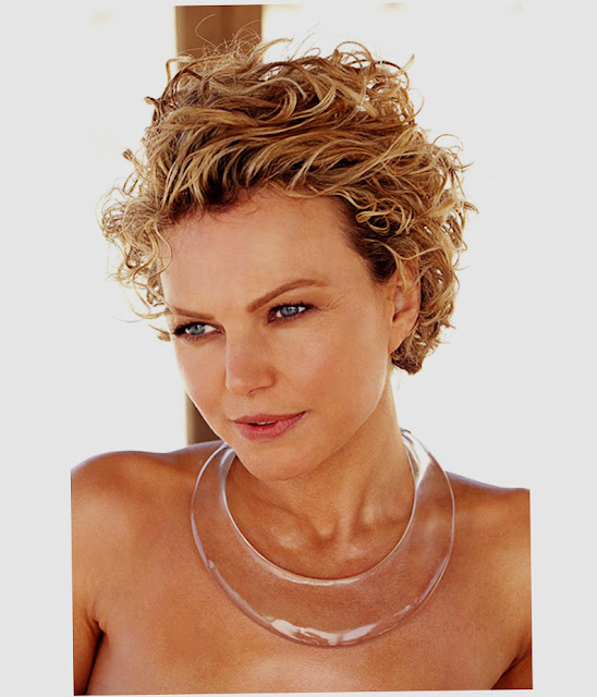 Pict of Short Hairstyles For Round Faces Curly Hair 2016 Amazing