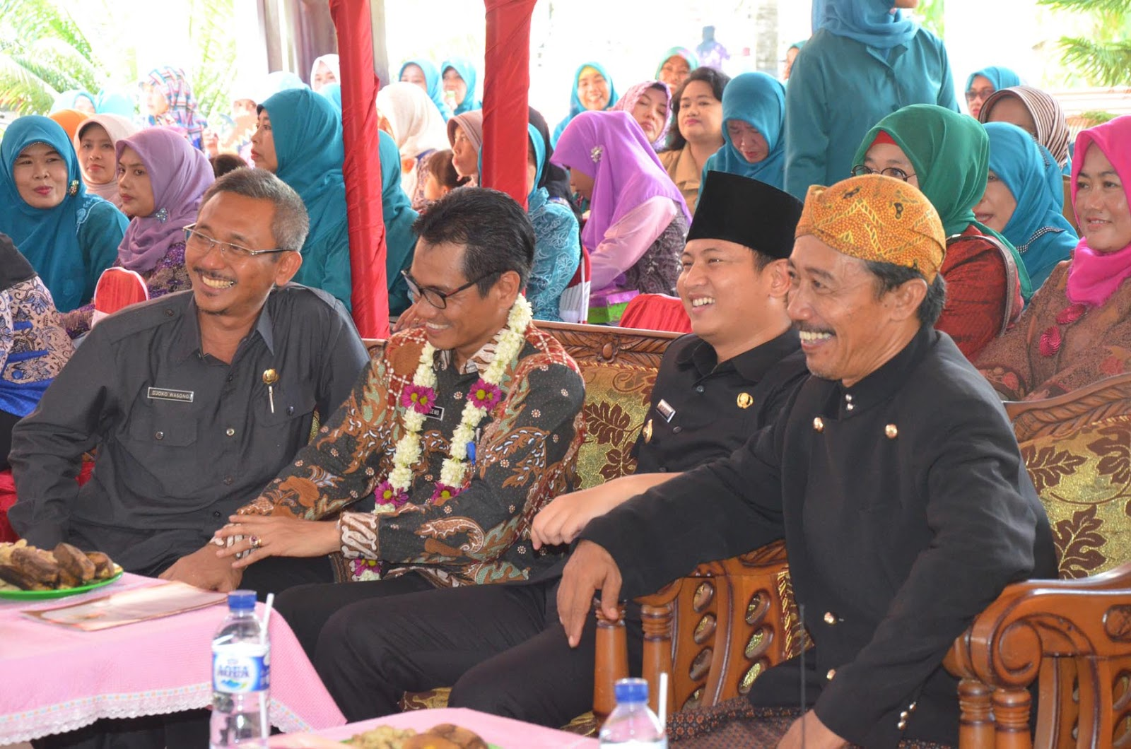 Tim Penilai Lomba Desa Kunjungi Desa Wonocoyo Kecamatan Panggul