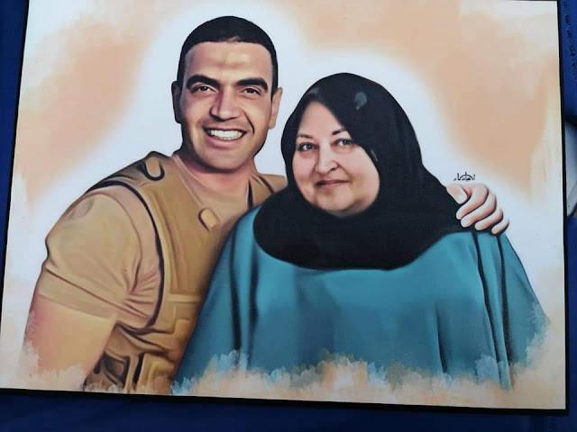 وفاة والدة الشهيد البطل أحمد منسى