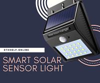 solar smart sanser light