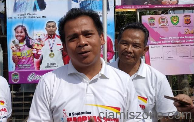 Melalui Haornas, Ciamis Bersatu untuk Papua