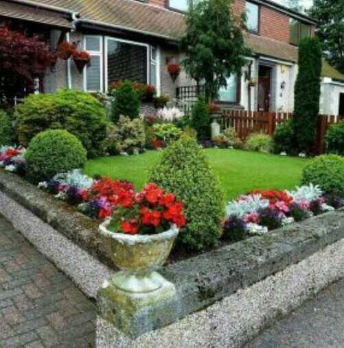 taman depan rumah minimalis di lahan sempit